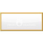 Infratopení (Infrapanel) ITZ 1000W dřevěný rám dub - doprava zdarma