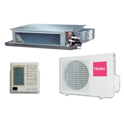 Klimatizační zařízení 2,5 kW do VZT potrubí s frekvenčním měničem