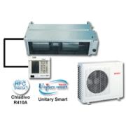 Klimatizační zařízení pro napojení na VZT potrubí UnitarySmart