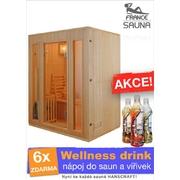 Finská sauna pro tři osoby Zen 3
