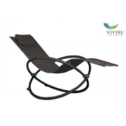 Vivere - Orbital Lounger Single # Sienna