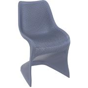 SIESTA EXCLUSIVE; Židle BLOOM šedá