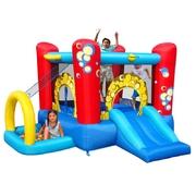 Play centrum 4 v 1 s míčky, skákací hrady Happy Hop