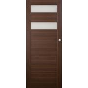 Posuvné dveře na stěnu SANTIAGO prosklené, model 5