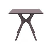 SIESTA EXCLUSIVE; Stůl IBIZA 80 hnědý