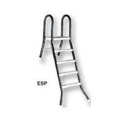 Schůdky  ESP pro nazapuštěné bazény 4+1 stupeň