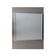 Skleněný topný panel infratopení ITS 300 W hliníkový rám matný