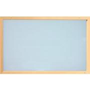 Skleněný topný panel (infratopení) ITS 750 W, rám smrk