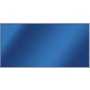 Skleněný topný panel ITS 500 W, rám hliníkový lesklý